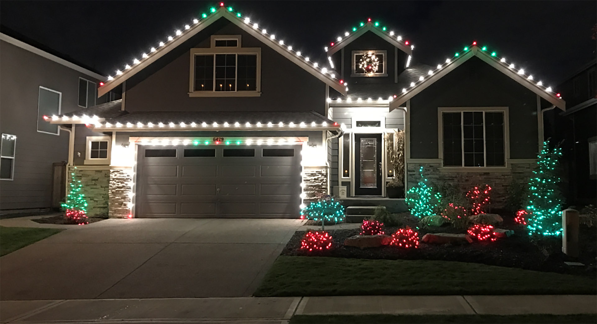 christmas lighting and decoration service in kent